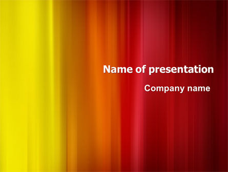 Red and Yellow PowerPoint Template