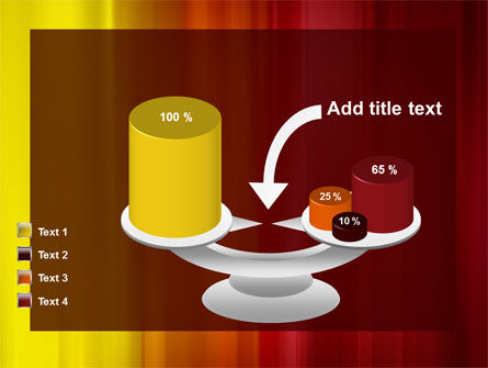 Red and Yellow PowerPoint Template Slide 10