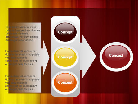 Red and Yellow PowerPoint Template Slide 11
