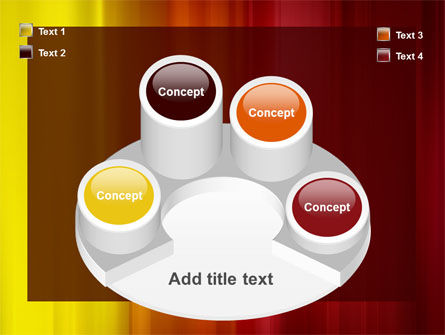 Red and Yellow PowerPoint Template Slide 12
