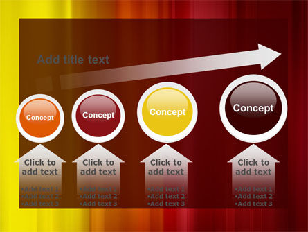Red and Yellow PowerPoint Template Slide 13