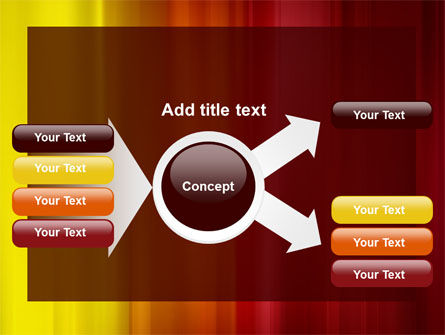 Red and Yellow PowerPoint Template Slide 14