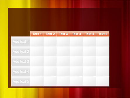 Red and Yellow PowerPoint Template Slide 15
