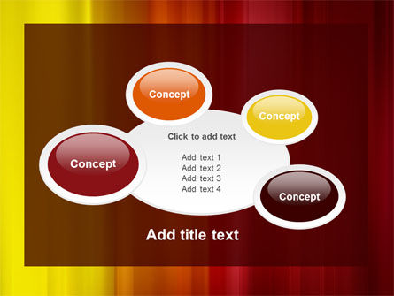 Red and Yellow PowerPoint Template Slide 16