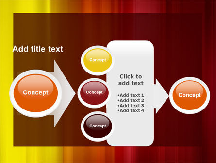 Red and Yellow PowerPoint Template Slide 17