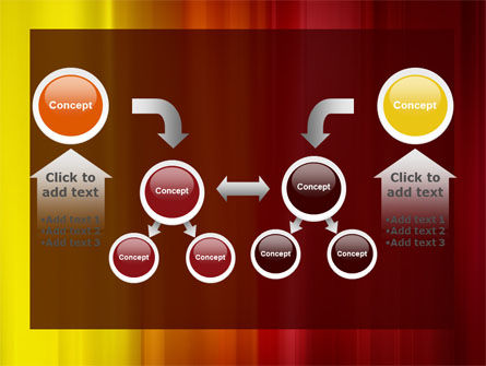 Red and Yellow PowerPoint Template Slide 19