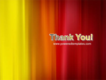 Red and Yellow PowerPoint Template Slide 20