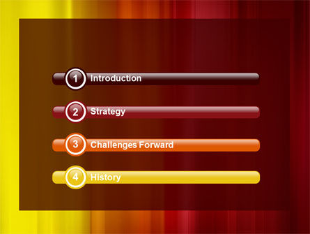 Red and Yellow PowerPoint Template Slide 3