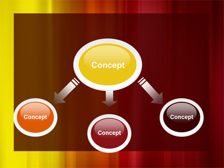 Red and Yellow PowerPoint Template Slide 4