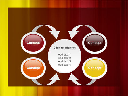 Red and Yellow PowerPoint Template Slide 6