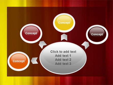 Red and Yellow PowerPoint Template Slide 7