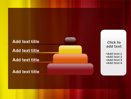 Red and Yellow PowerPoint Template Slide 8