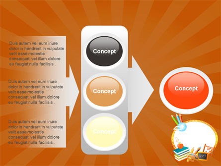 School Learning Theme PowerPoint Template Slide 11