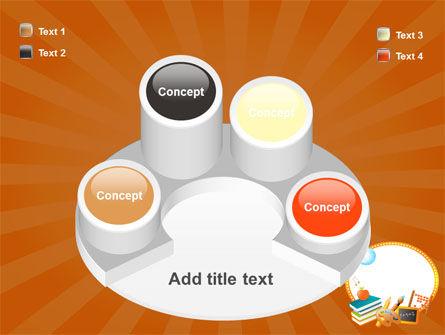 School Learning Theme PowerPoint Template Slide 12