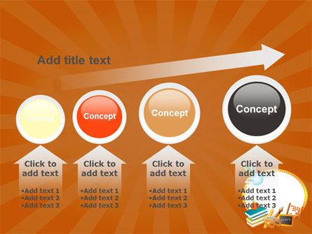School Learning Theme PowerPoint Template Slide 13