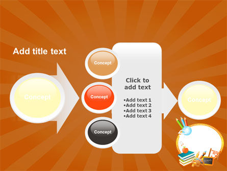 School Learning Theme PowerPoint Template Slide 17