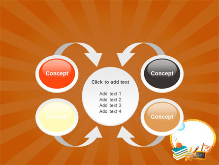 School Learning Theme PowerPoint Template Slide 6