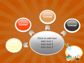School Learning Theme PowerPoint Template#7
