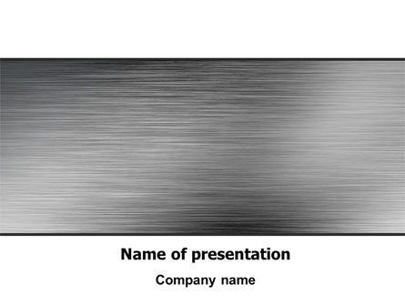 Steel Background PowerPoint Template
