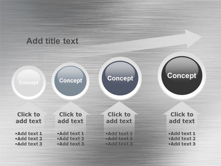 Steel Background PowerPoint Template Slide 13