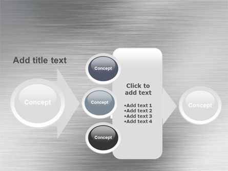 Steel Background PowerPoint Template Slide 17