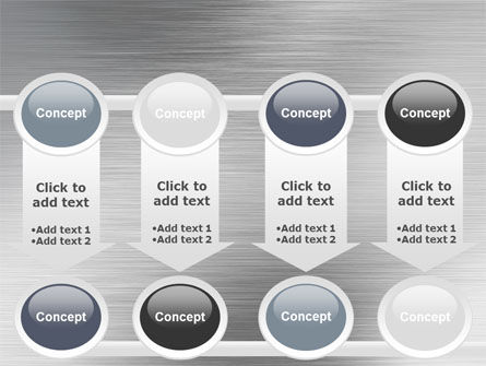 Steel Background PowerPoint Template Slide 18
