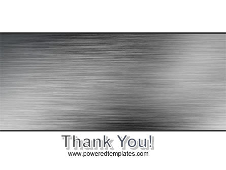 Steel Background PowerPoint Template Slide 20