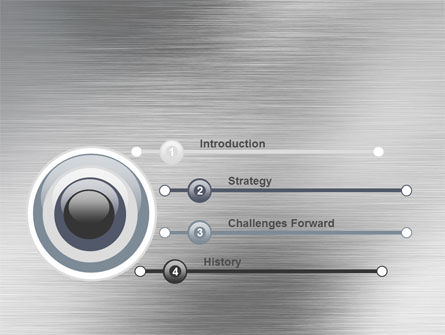 Steel Background PowerPoint Template Slide 3