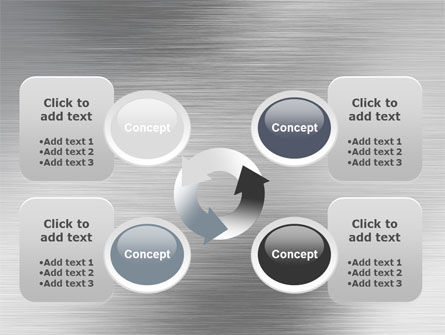 Steel Background PowerPoint Template Slide 9