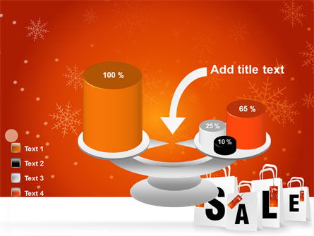 Christmas Sale PowerPoint Template Slide 10