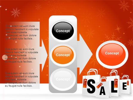 Christmas Sale PowerPoint Template Slide 11