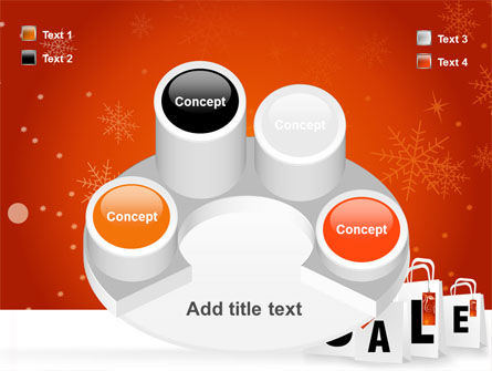 Christmas Sale PowerPoint Template Slide 12