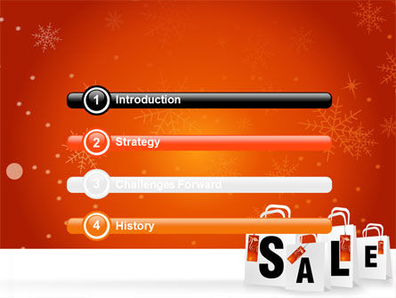 Christmas Sale PowerPoint Template, Slide 3, 06843, Careers/Industry — PoweredTemplate.com