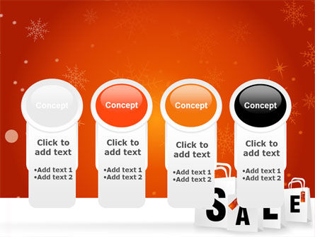 Christmas Sale PowerPoint Template Slide 5
