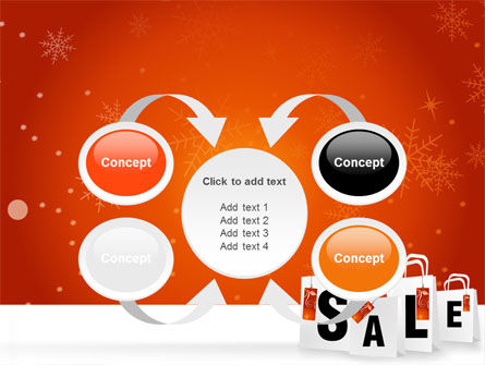 Christmas Sale PowerPoint Template Slide 6