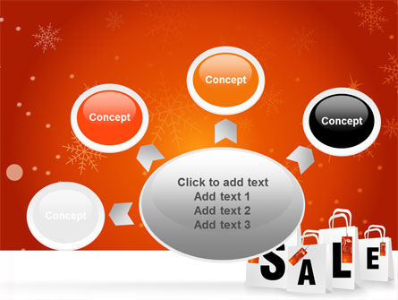 Christmas Sale PowerPoint Template Slide 7