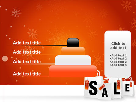 Christmas Sale PowerPoint Template Slide 8