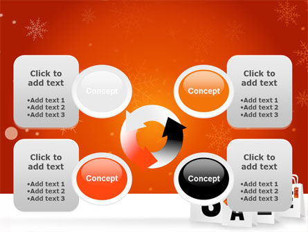 Christmas Sale PowerPoint Template Slide 9