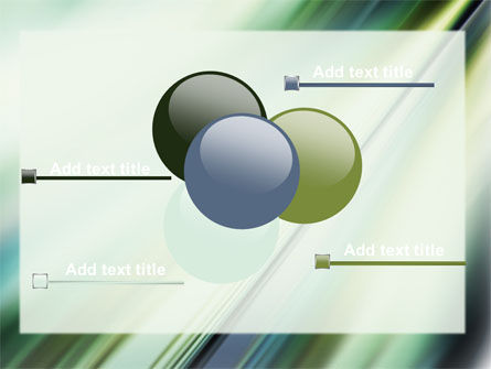 Green Blur PowerPoint Template Slide 10