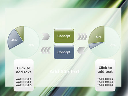 Green Blur PowerPoint Template Slide 11
