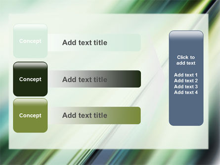 Green Blur PowerPoint Template Slide 12