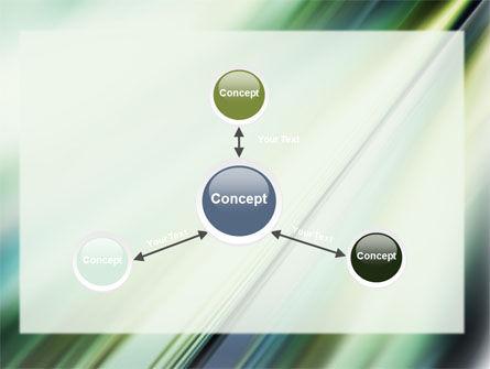 Green Blur PowerPoint Template Slide 14