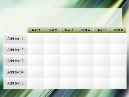 Green Blur PowerPoint Template Slide 15