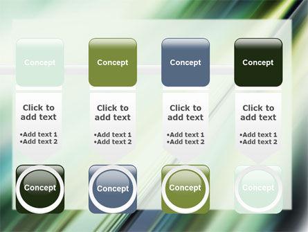 Green Blur PowerPoint Template Slide 18