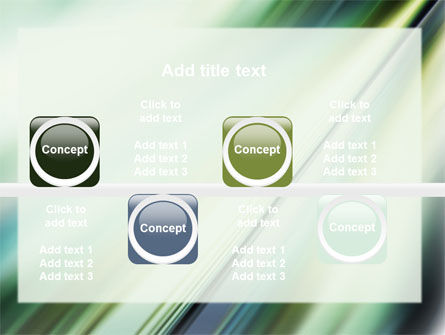 Green Blur PowerPoint Template Slide 19