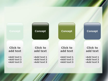 Green Blur PowerPoint Template Slide 5