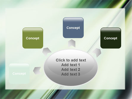 Green Blur PowerPoint Template Slide 7
