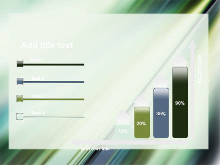 Green Blur PowerPoint Template Slide 8