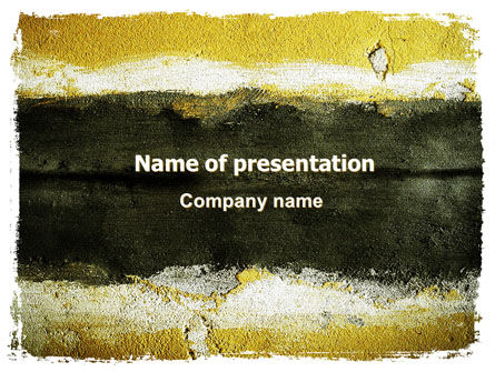 Stucco PowerPoint Template