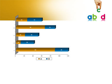 Childish Letters PowerPoint Template Slide 11